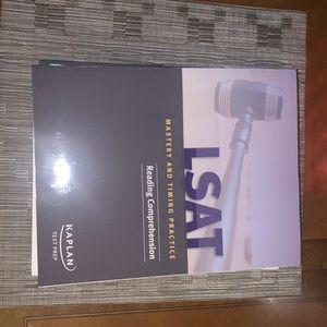 LSAT Kaplan test prep set